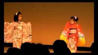 子ども 日本舞踊発表会「京人形」