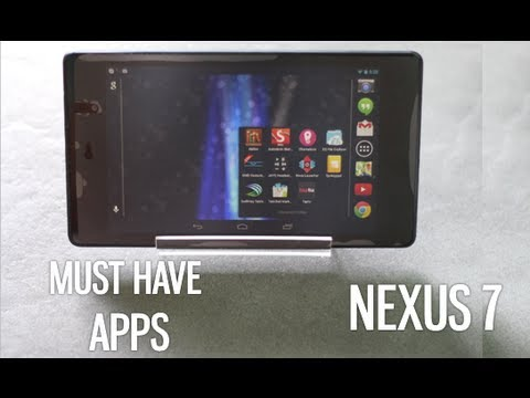 Top 10 Best Must Have Android Apps for Nexus 7 2013
