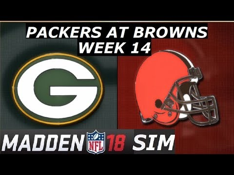 Madden 18 - Week 14 - Green Bay Packers at Cleveland Browns 2017
