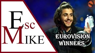 Eurovision Winners 2000 - 2017  (Top 3 By Year Compilation)