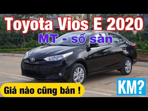 Giá xe Toyota Vios 2020 MT số sàn   Giá nào cũng bán !