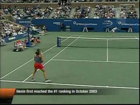 Justine Henin vs Jennifer Capriati Classic Match: Just the tennis (1/5)