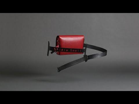 Organ / DIY Leather Waist & Clutch Bag