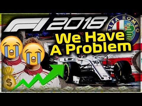 SERIES EARLY END?! PROBLEMS.... - F1 2018 Alfa Romeo Manager Career Part 34