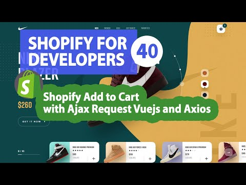 40   Shopify Add to Cart with Ajax Request Vuejs and Axios thumbnail