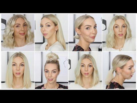 ❥ 8 coiffures pour tous les jours   carrÉ long