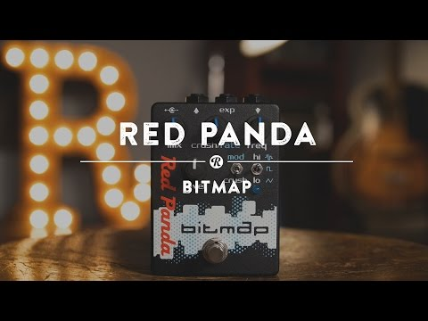 Red Panda Bitmap Pedal | Reverb Demo Video