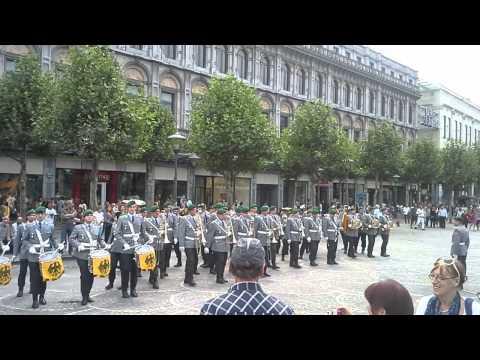 Musique militaire allemande Liège 2014