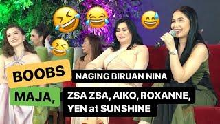 DIBDIB, naging tuksuhan nina Maja, Zsa Zsa, Aiko, Sunshine, Yen, at Roxanne | WILDFLOWER Presscon