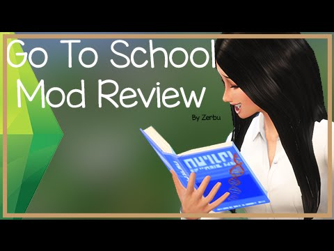 (Thanks to TheSimplyNando for the above logo!) The Sims 4 Go to School Mod Pack allows players with both The Sims 4 and The Sims 4 Get to Work to follow their Child ...