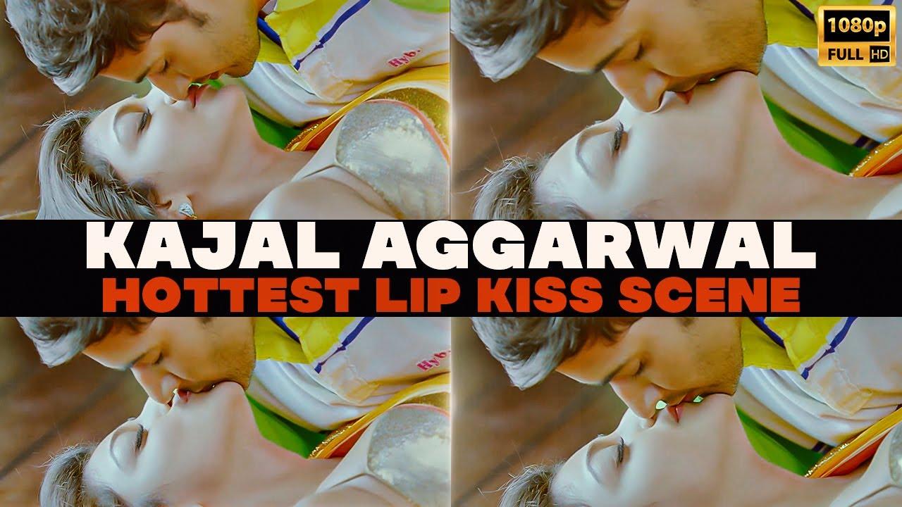 Download Kajal Aggarwal Hottest Lip Kiss    Kajal Lip Kiss Edit    Kajal Agarwal Kiss Scene #KajalAggarwal