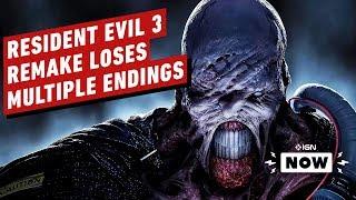 Resident Evil 3 Drops Multiple Endings From the Original - IGN Now