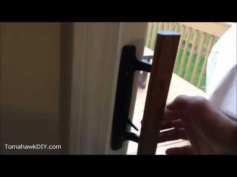 How to Fix Sliding Glass Door Lock