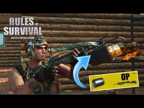 THIS NEEDS TO BE NERFED! Rules of Survival Gameplay