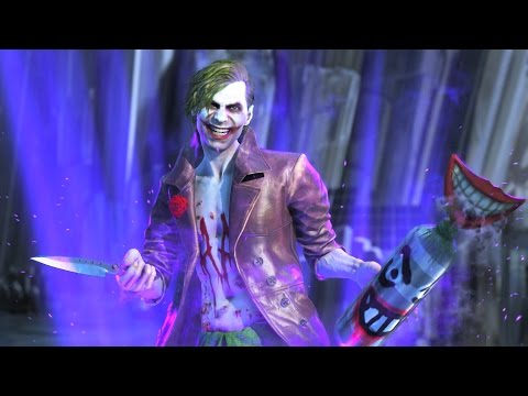Injustice 2 The Joker Super Move on All Characters 4k UHD 2160p