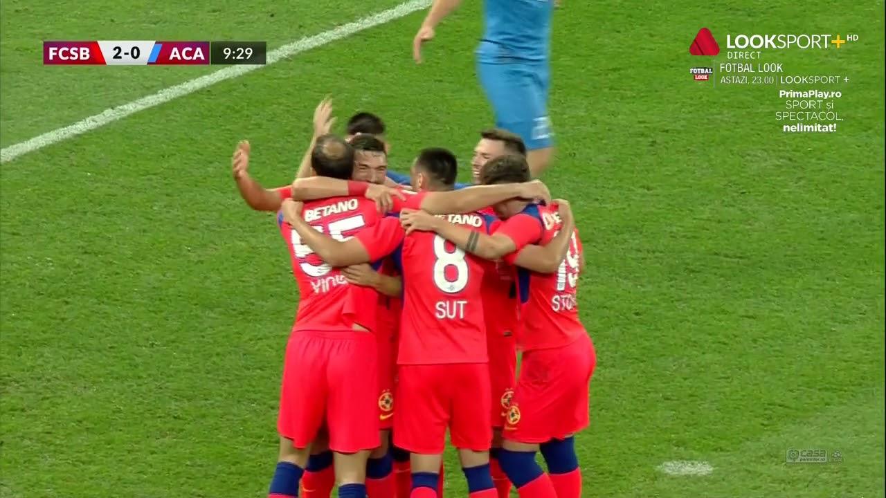 FCSB, două goluri în primele 10 minute cu Clinceniul