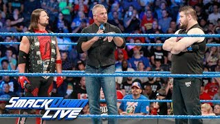 Shane McMahon lays down the law to AJ Styles and Kevin Owens: SmackDown LIVE, Aug. 8, 2017