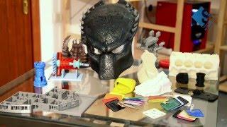 видео 3d печать пластик