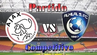 Fifa15: Ajax vs Al-Hilal Partido Competitivo (Ps4) 2017 Video