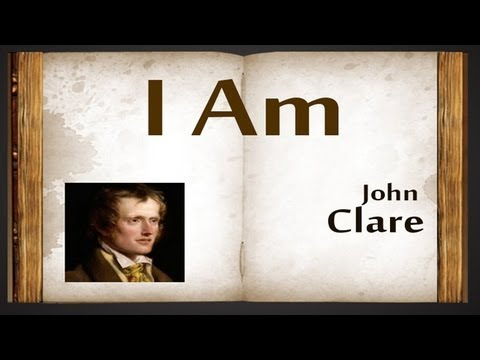 """i am by john clare In addition, i am indebted to the florida atlantic english department  theorizes  the """"mundane sublime"""" as encountered in romanticist john clare's poetry."""