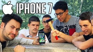 Ils explosent un iPhone 7 !