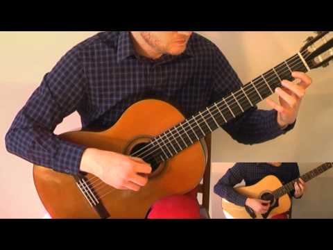 Game Of Thrones Theme (Acoustic Classical Twelvestring Guitar Fingerstyle Tabs Cover)