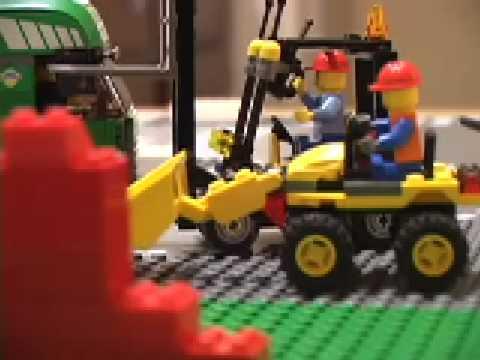 Lego City - Front End Loader - Mini Digger - 7246 / 7733 ...