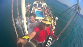 Черное море, Дагомыс 2014! Sony HDR-AS15(Отдых в Дагомысе, прогулка на катере в сопровождении дельфина!, 2014-08-09T06:37:56.000Z)
