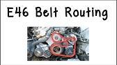 Bmw E46 X3 X5 E39 Serpentine Belt And A C Belt Install Belt Diagram 323i 325i 328i 330i 525i 530i Youtube