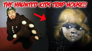 3 AM CHALLENGE IN THE HAUNTED KIDS TRAP HOUSE - WE FOUND A POTION!!