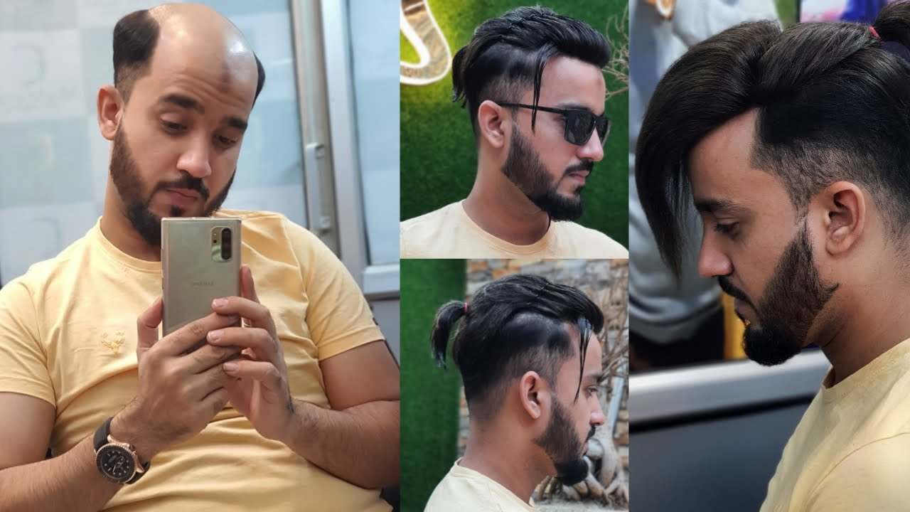 Hair patch with ponytail style! By anas sheikh in Delhi! Call us 9650914665