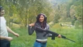 EPIC GIRLS GUN FAIL COMPILATION MAY 2017