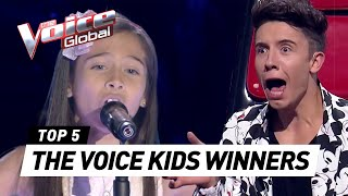 BEST WINNERS from all around the world in The Voice Kids [PA...
