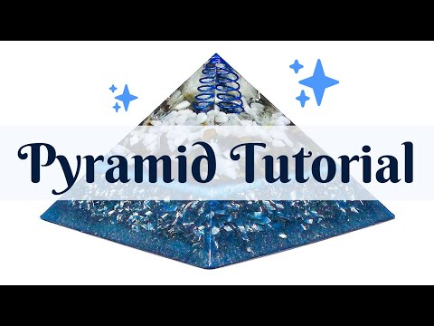 Orgonite | How To Make A Powerful & Efficient Orgone Pyramid