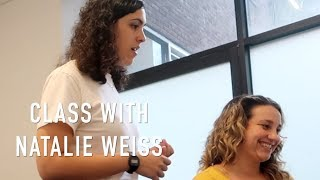 My singing lesson with Natalie Weiss