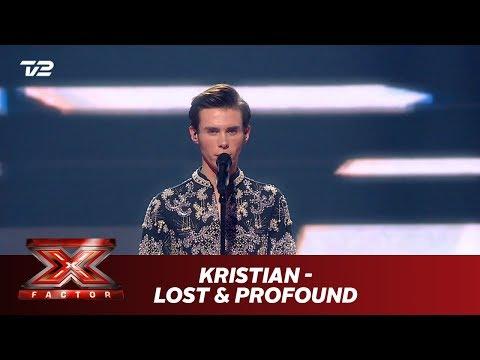 Kristian synger 'Lost & Profound' - Egen sang (Live)   X Factor 2019   TV 2