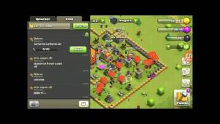 Primer video de clash of clans///leer descripcion