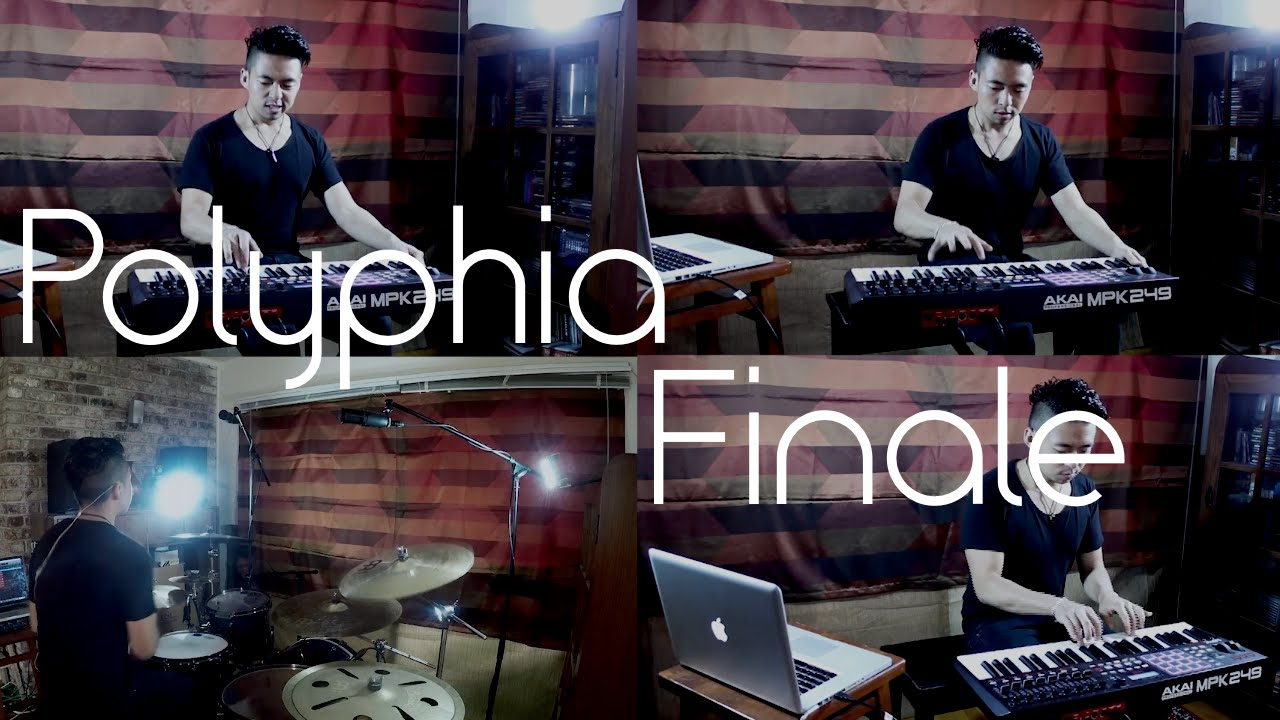 Erik Huang Polyphia Finale Piano Drum Cover Youtube