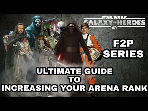 Star Wars Galaxy Of Heroes Ultimate Guide To Increasing Your Arena Rank