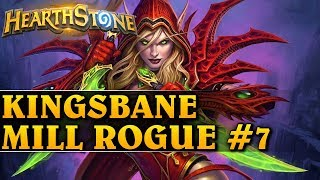 KINGSBANE MILL ROGUE #7 - Hearthstone Decks std