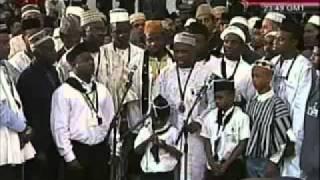 AFRICAN SINGING LA ILAHA ILALLA HU.êrsented by khalid-QADIANI-AHMADIYYA.mp4