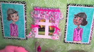 Doll Room Tour: Bedroom Loft Above Horse Stable