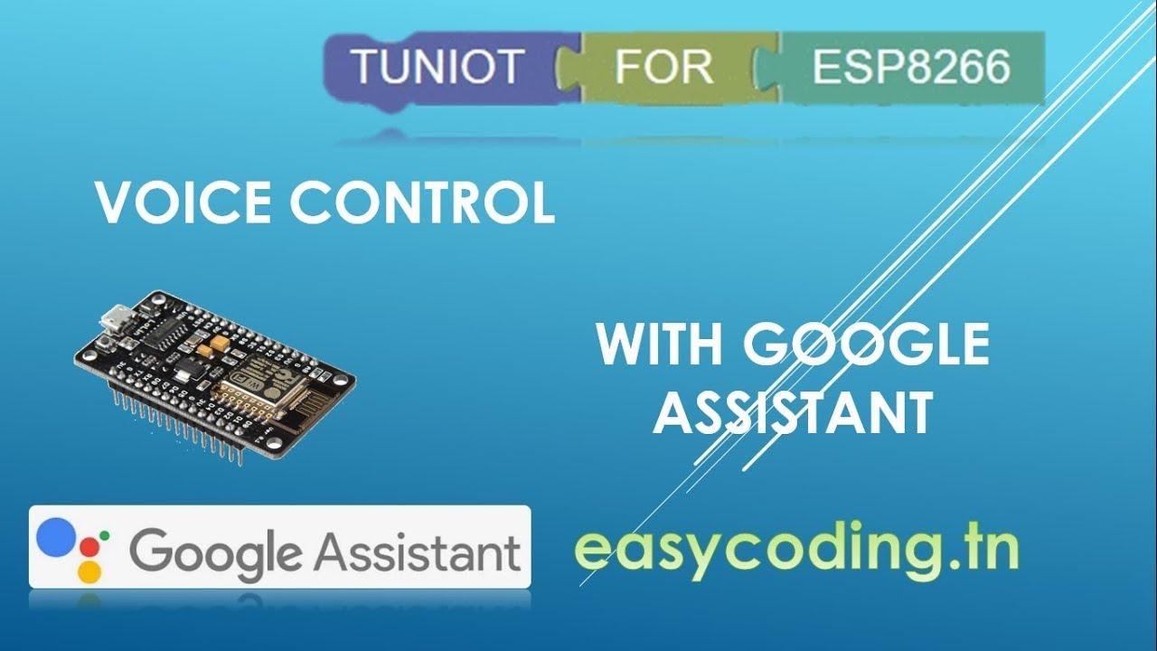 NodeMcu (ESP8266) Tutorial: Voice control with Google Assistant