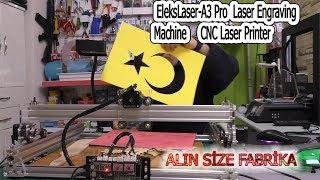 BU MAKİNE İLE PARA KAZANABİLİRSİNİZ   EleksMaker CNC  Laser