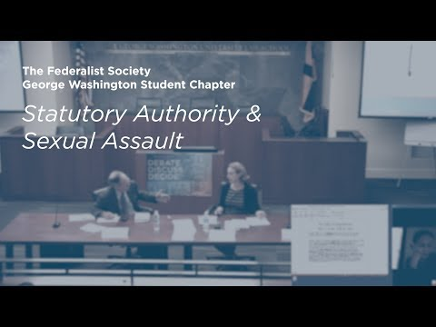 Statutory Authority and Sexual Assault