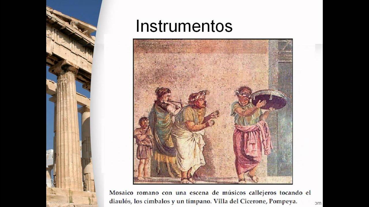 La Musica De La Antigua Grecia Youtube