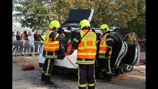 VIDÉO. Pompiers et policiers en démonstration à Blois