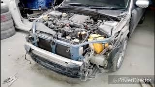 Кузовной ремонт. Покраска. Subaru Legacy. Body repair