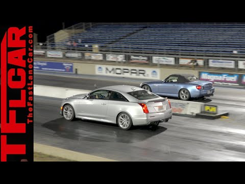 2016 Cadillac ATS-V: How fast is Cadillac's 465 HP Coupe over a 1/4 Mile?
