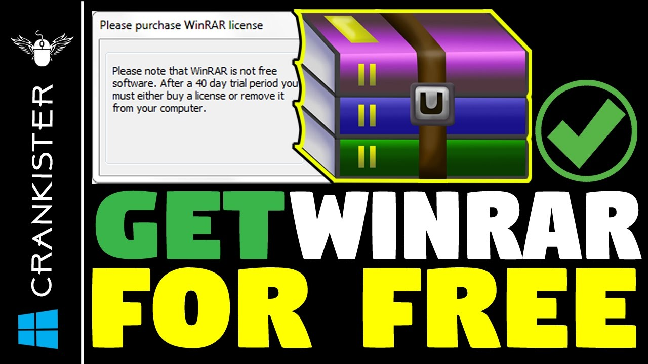 Winrar (64-bit) free download.